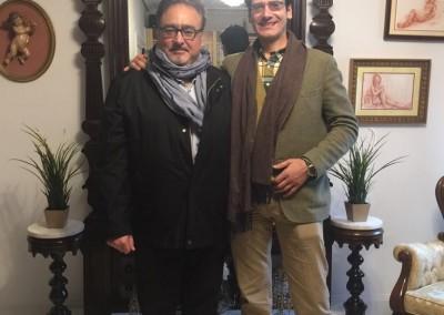 Carlos Moreno y Andrés del Pino